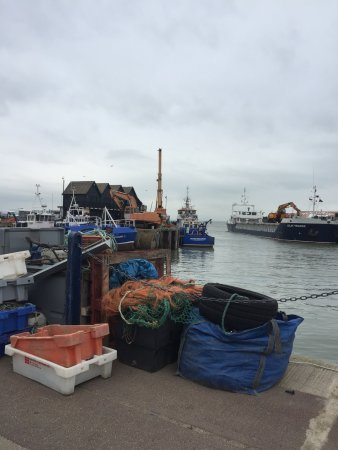 Fishing boats at Whitstable Harbour
