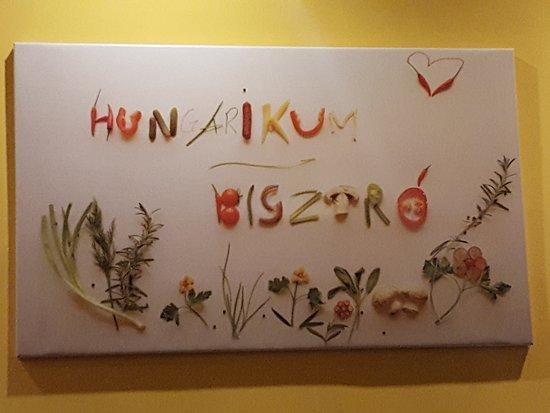 Hungarikum Bisztro: DEcoración