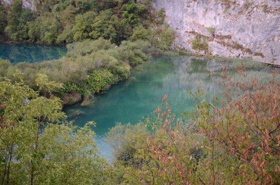 Plitvica, Κροατία: Jezioro Novakovica Brod