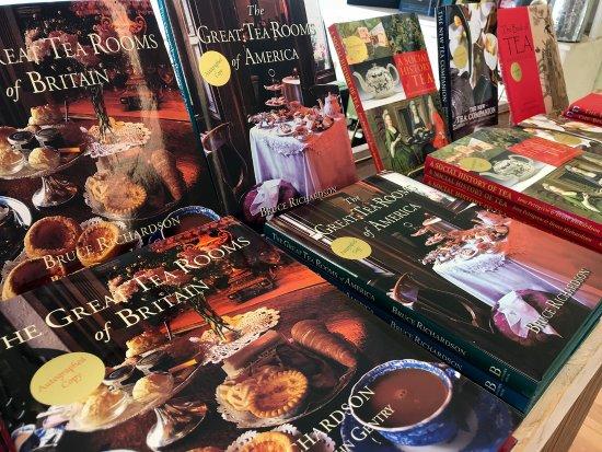 Elmwood Inn Fine Teas: Autographed tea books by owner Bruce Richardson