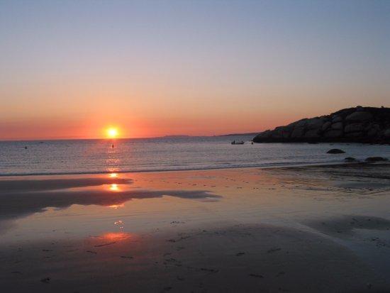 Playa Lanzada: tramonto alla Lanzada