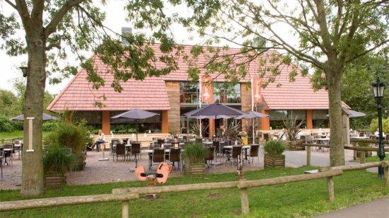 Alphen aan den Rijn, Nederland: Schaapskooi met terras