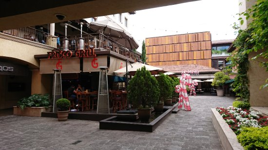 Plaza Fontabella: xmas decoration