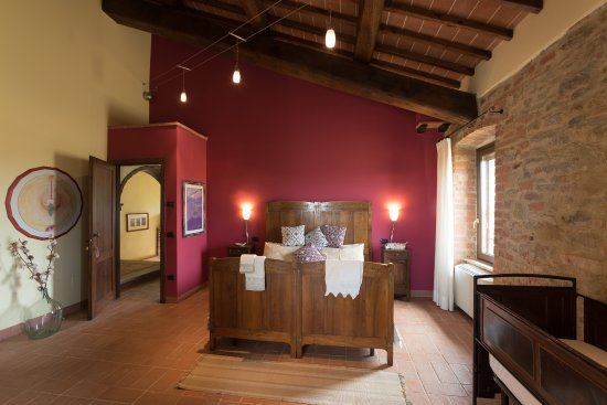 Panicale, Italien: Red Room