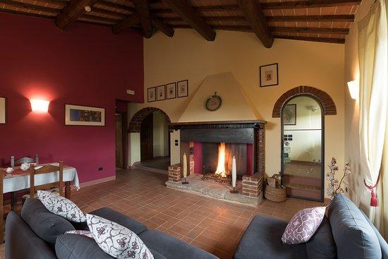 Panicale, Italia: Living Room