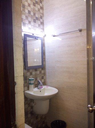 Hotel Delhi Darbar: Clean bathroom only plus point