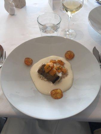 Monswiller, Francia: Cabillaud risotto parmesan
