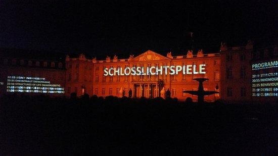 Schloss Karlsruhe: Schlosslichtspiele8