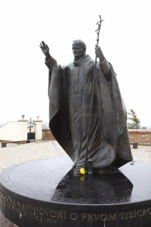 写真Statue of John Paul II枚