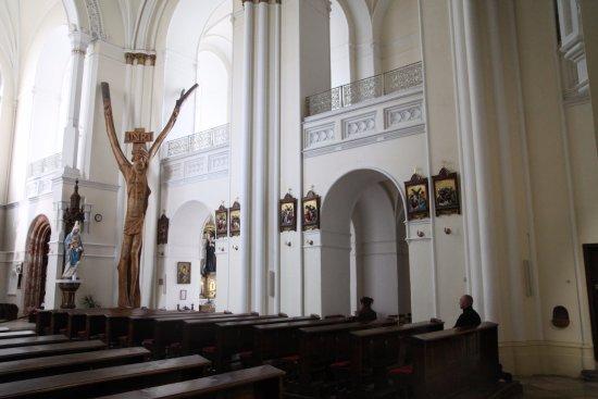 Nitra, Slovakia: Le Christ dans la nef