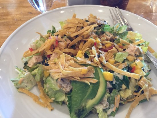 Sun Valley, ID: Excellent salad!