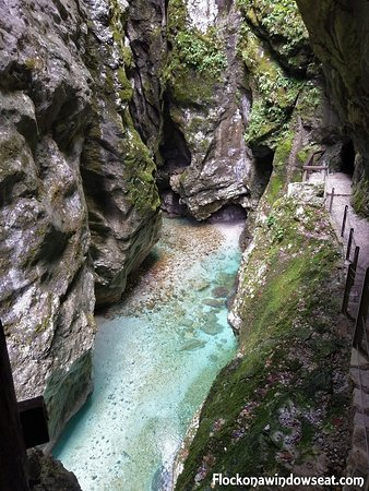 Tolmin, Slovenia: wish i jumped in!