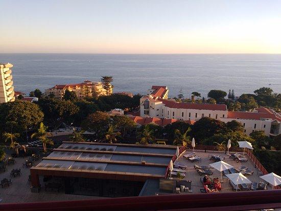 Four Views Monumental Lido: Utsikt från balkongen vån 10