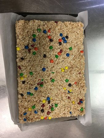 Langley City, Canada: Rice Crispie squares for people of any age!