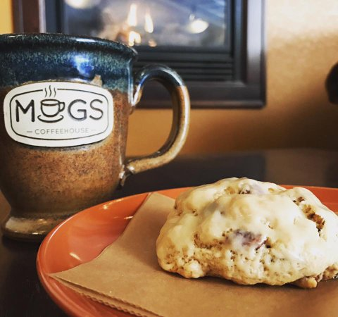 Ripon, WI: coffee.scone.fireplace. winter's got nothing on us.