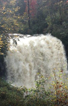 Highlands, NC: Dry Falls after a storm