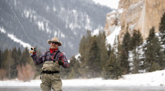 Montana: Missed the big one? Don't worry, you can fly fish a blue ribbon river this winter.