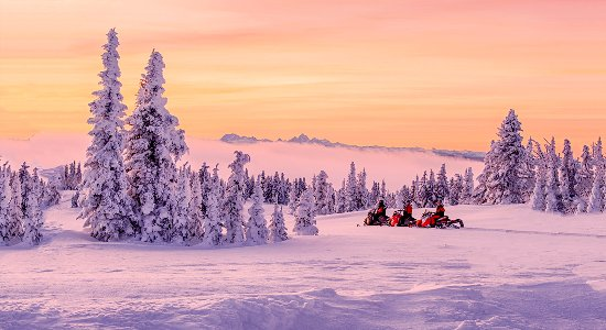Montana: Takeoff on an adventure – snowmobile, snowshoe, ice climb, and more!