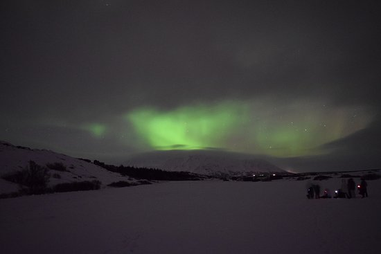 Kopavogur, Iceland: The Northern Lights