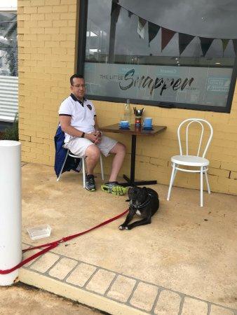 Culburra Beach, Australië: Dog friendly & good food = perfect