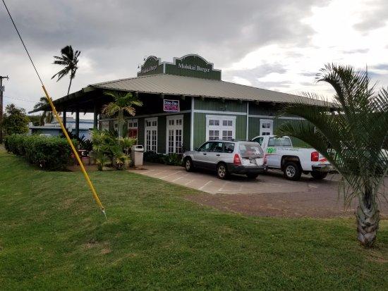 Molokai Burger, Kaunakakai, Hawaii