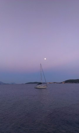 Kuciste, โครเอเชีย: Sunset view