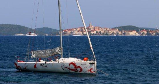 "Kuciste, โครเอเชีย: Daily sailor ... cruiser-racer sailboat  ""Aruba"""
