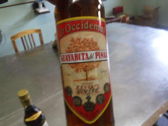 Pinar del Rio, Cuba: NOTE THE BOTTLE DIFFERENCES