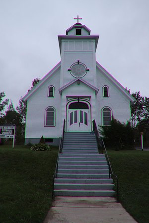 Baddeck, Canadá: An attractive church