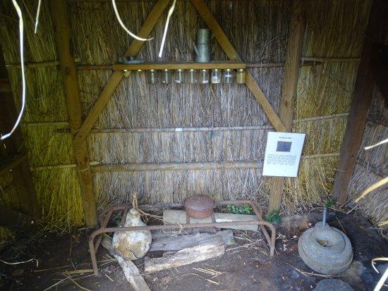 Saint-Leu, Reunión: hutte des premiers réunionais