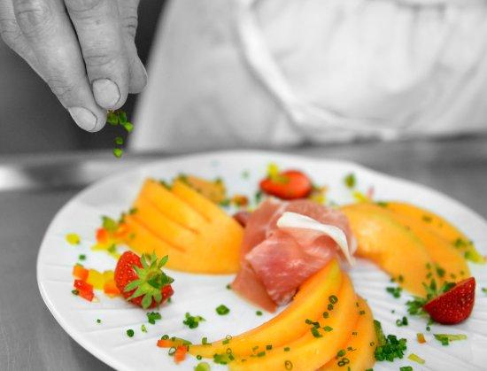 Chitenay, فرنسا: Melon à l'Italienne