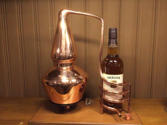 Drumnadrochit, UK: Mini Aberlour Copper Still