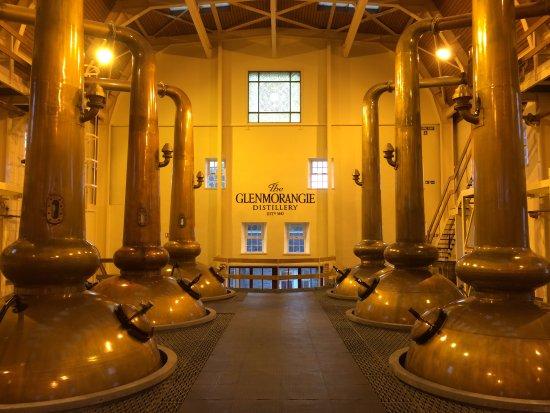 Drumnadrochit, UK: Stills at Glenmorangie Distillery