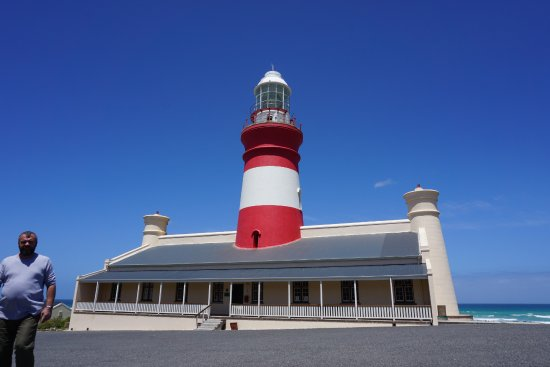 Strandfontein, South Africa: Light House in Cape Agulhas