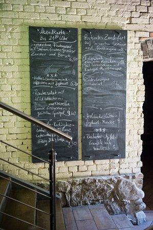 Neustrelitz, Germany: Auf unserer Tageskarte finden Sie überwiegend Produkte aus regionaler Landwirtschaft