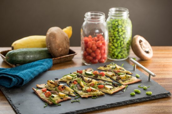 Lone Tree, CO: Roasted Vegetable Flatbread