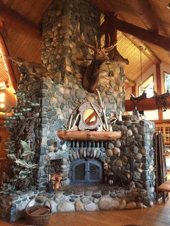 Peshastin, WA: The fireplace
