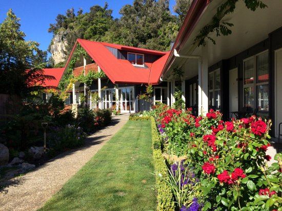 Pohara, Nuova Zelanda: Ratanui Garden