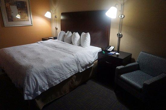 Hampton Inn & Suites Seattle Downtown: quarto com as tradicionais camas queen