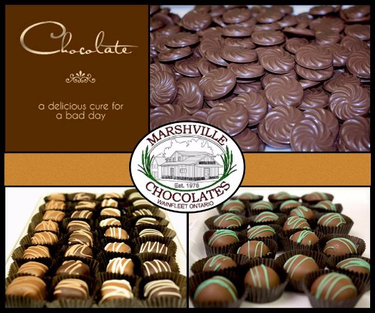 Wainfleet, Canadá: Chocolate makes everything better!