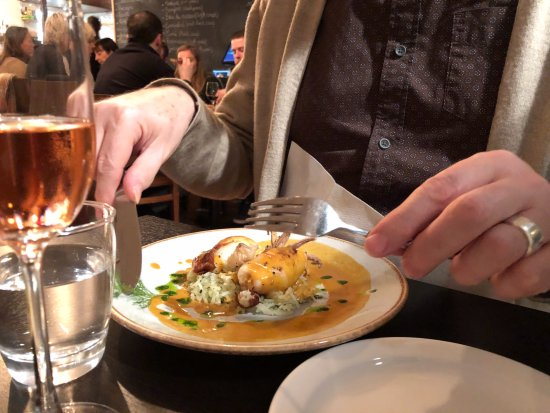A dish picture of petit pois restaurant brighton for Petit pois cuisine