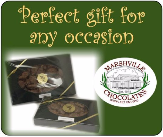 Wainfleet, Canada: Chocolate makes the perfect gift