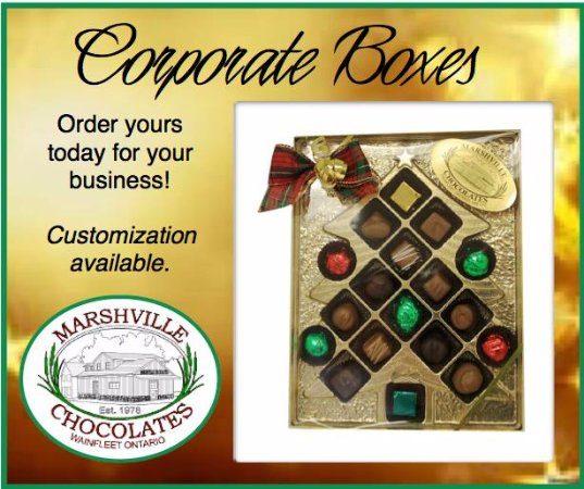 Wainfleet, Canada: Corporate Chocolate Boxes