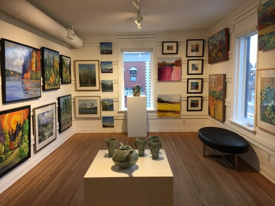St. Albert, Canada: Our Rental and Sales section at the Art Gallery