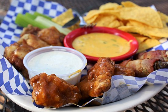 "Salado, TX: Our Sampler appetizer gives you a teaser of all things ""The Shed!"""