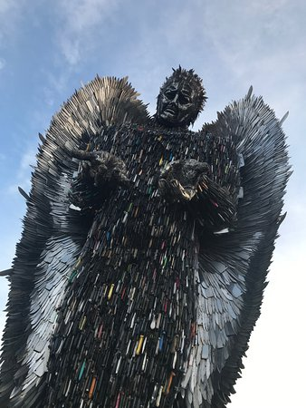 Oswestry, UK: The Knife Angel
