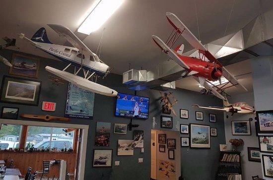 Powell River, Kanada: Julie's Airport Cafe