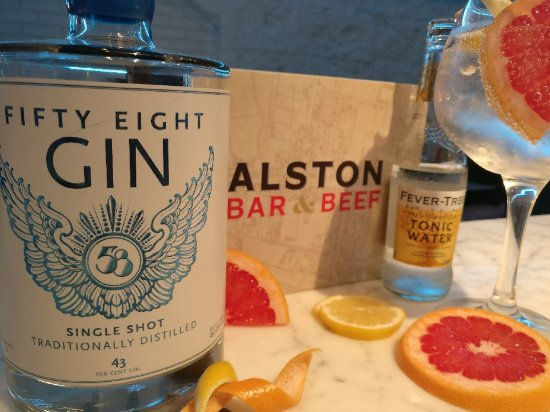 ‪Alston Bar and Beef Gin Masterclass‬