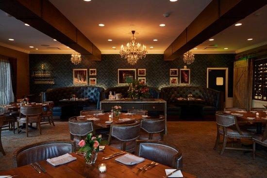 Ранчо Санта-Фе, Калифорния: DINING ROOM