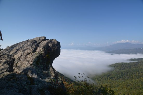 View from The Blowing Rock!